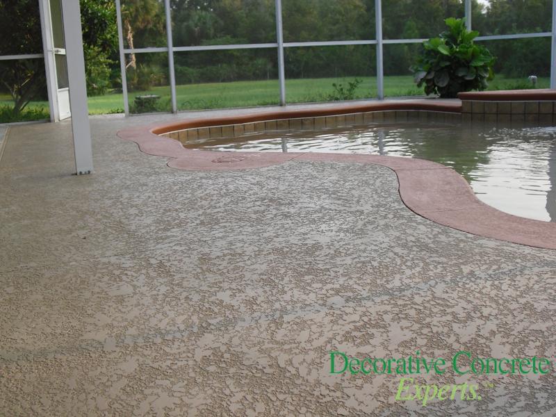 Sprayed Texture Concrete Experts Orlando Concrete