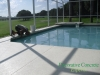 Patio remodel and pool deck pressure wash and paint
