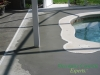 Pool Deck with buildup work done Sanford, FL