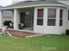 Concrete patio addition prep Clermont, FL