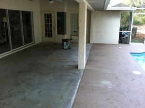 Pool Deck Patio Repair Project Hernando Fl Decorative Concrete