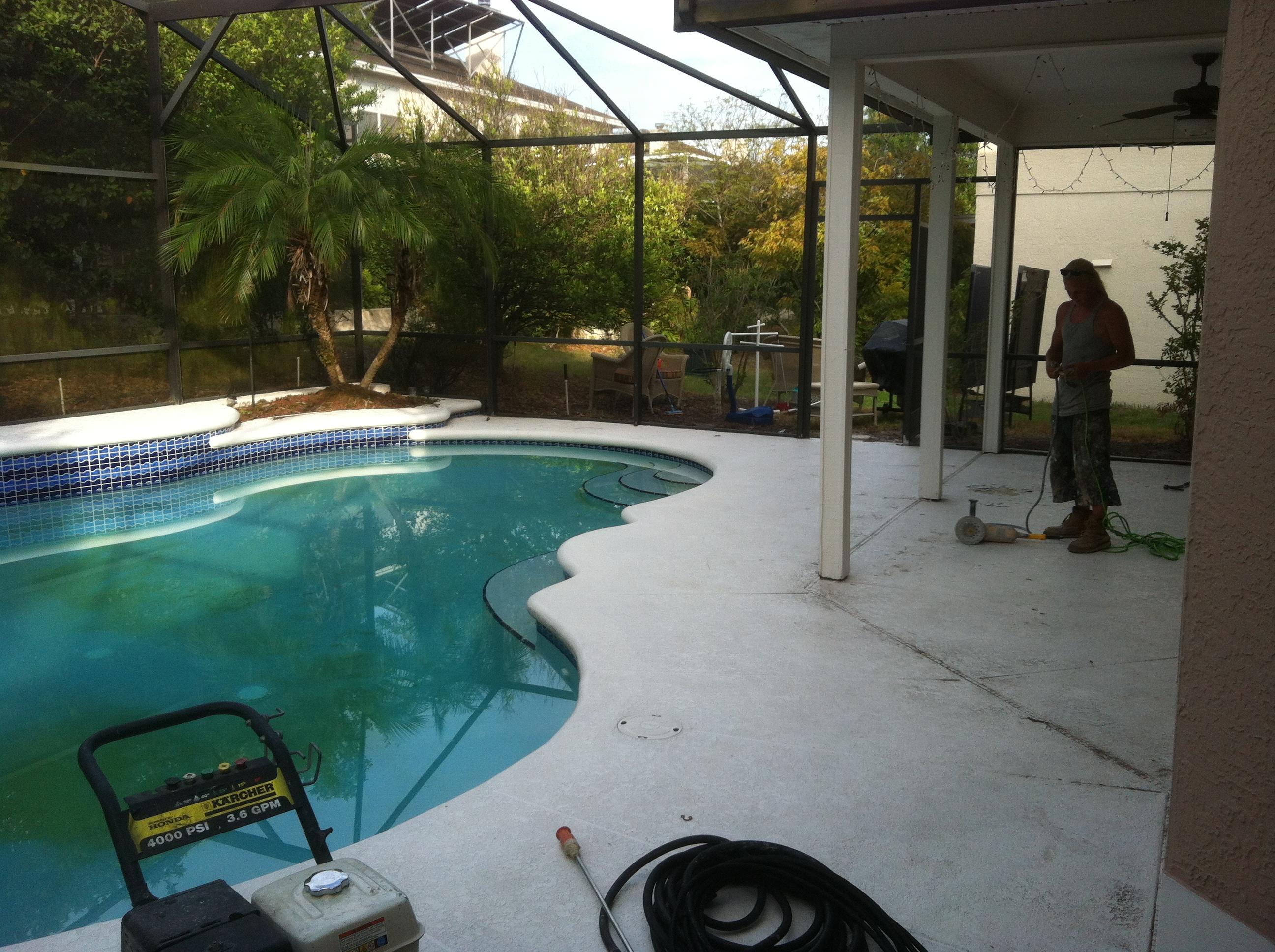 Pool Deck spray textures