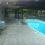 Pool deck ready for remodel!