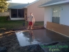New concrete pad for Hot Tub