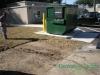 Dumpster pad before Ocala, FL