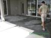 Back Patio in progress Groveland, FL