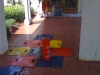 HOA entryway with stamped concrete St. Augustine, FL